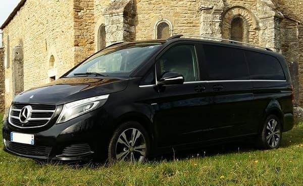 Transport à Lyon en Mercedes Classe V prestige et limousine