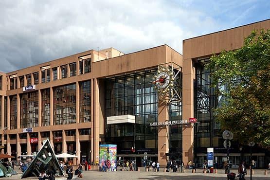 Correspondance train à la Gare de Lyon-Part-Dieu