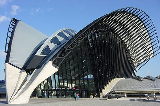 Navette entre lyon et la gare Saint-Exupéry