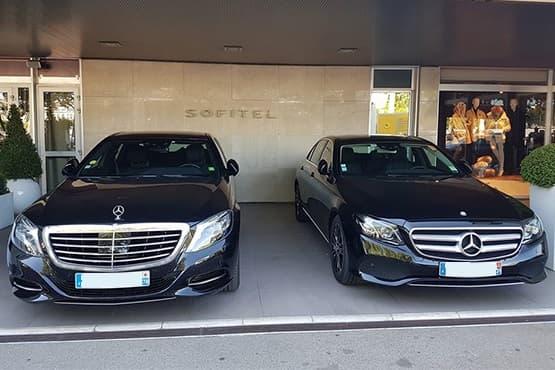Service de transport personnalisé avec chauffeur privé pour transfert avec Aéroport de Lyon