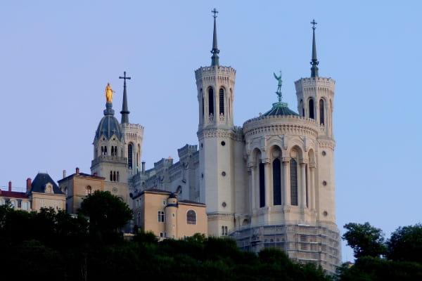 Aller a la Basilique Notre-Dame de Fourvière en VTC